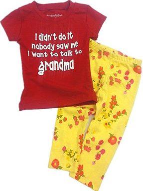 Pyjamas - Wording Set I didn't Do