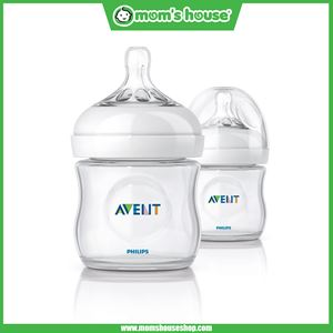 AVENT NATURAL BOTTLE TWIN PACK (4 OZ)