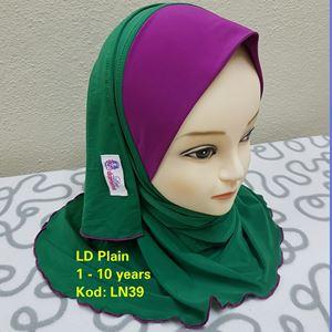 Shawl LD Plain (LN39)
