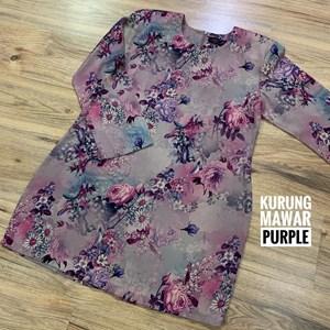 Kurung Mawar Purple