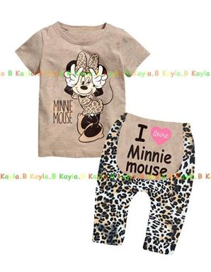 Baby Pyjamas - I Love Minnie Mouse