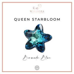 Brooch Star Queen Bermuda Blue