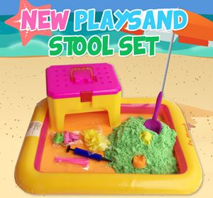 New Playsand Stool Set