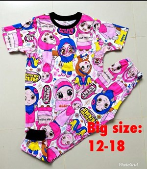 Pyjamas ANA MUSLIM SCHOOL EDITION : SIZE BIG  12 - 18