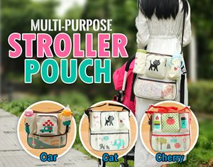 MULTI-PURPOSE STROLLER POUCH