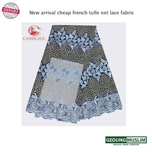 New arrival cheap french tulle net lace fabric