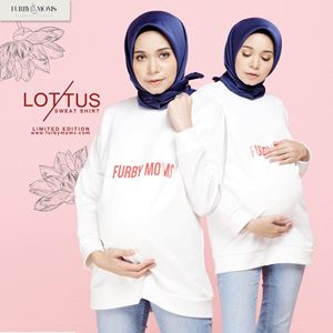 Lottus Sweatshirt - (White) Limited Edition