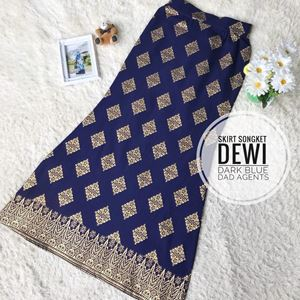 Skirt Songket Dewi Dark Blue