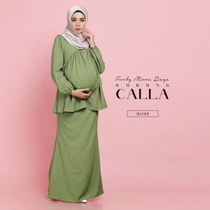 Calla Kurung - Olive Drab