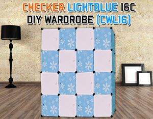 CHECKER 16C DIY WARDROBE (CWL16)