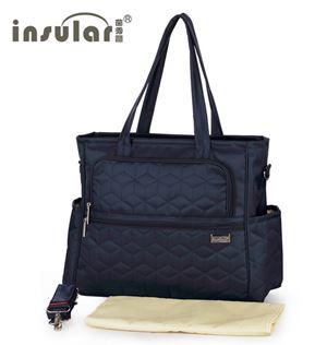 Original Insular Diaper Shoulder Bag - Blue