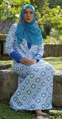 Baju Kurung Melissa (KM109) - Size XS, M ONLY available