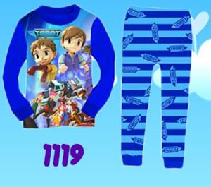 1119 Tobot & StarWars 3D Pyjamas