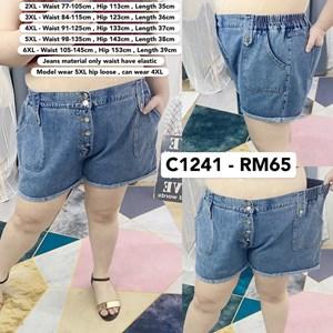 C1241 Ready Stcok* Waist 31 - 57inch / 77 - 145cm