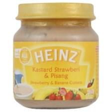 Heinz Strawberry & Banana Custard from 6 Months 110g