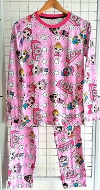 Pyjamas Viral My LOL PINK - Dewasa , size L, XL