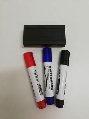 WB01 White board marker 3 warna siap pemadam