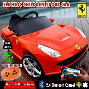 Electric Children Ride On Ferrari Sport Car s Remote Rechargeable