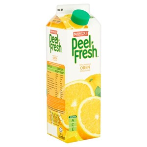 MARIGOLD PEEL FRESH LESS SUGAR 1L - ORANGE