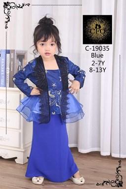 19035  CFO  BAJU RAYA 2020  ( SIZE 2-7Y )  BLUE