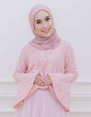 ALARA LACE TOP IN LIGHT PINK