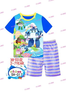Pyjamas Set - Robocar Poli SH-017