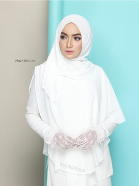 KCL WED WHITE