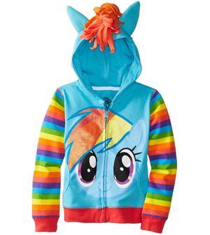 PREORDER  Little Pony Jacket - BLUE  ( SZ 80-150 ) ETA EARLY-MID NOV