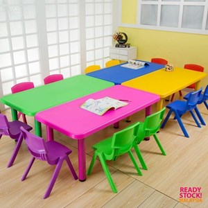 Kindergarten Rectangular Kids Study Table (Table Only)