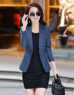 Casual Long-Sleeve Coat