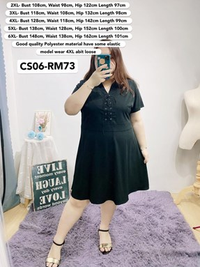 CS06 *Bust 43 to 58 inch/ 108-148cm
