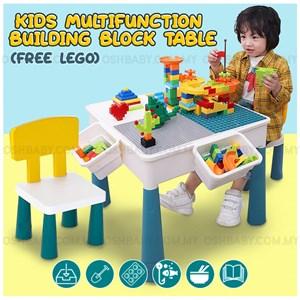 Kids Multifunction Building Block Table + FREE LEGO