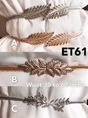 ET61 *Ready Stock*Waist 36 to 80inch/92-203cm