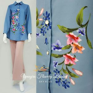 UMAYRA FLOWERY BLOUSE ( BLOUSE SAHAJA)
