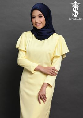 KURUNG JANELLE ( YELLOW  )