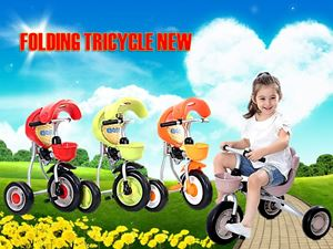 FOLDING TRICYCLE NEW