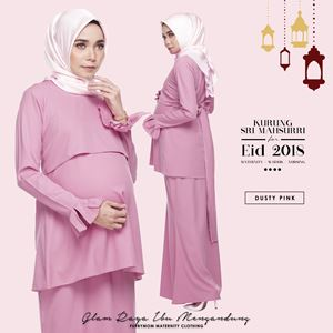 Sri Mahsurri Kurung - Dusty Pink