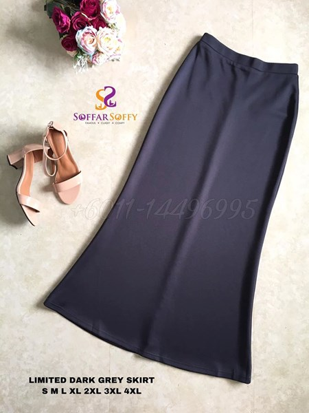 LIMITED DARK GREY SKIRT