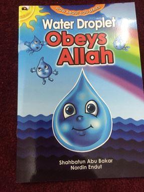 BUKU CERITA WATER DROPLET OBEYS ALLAH