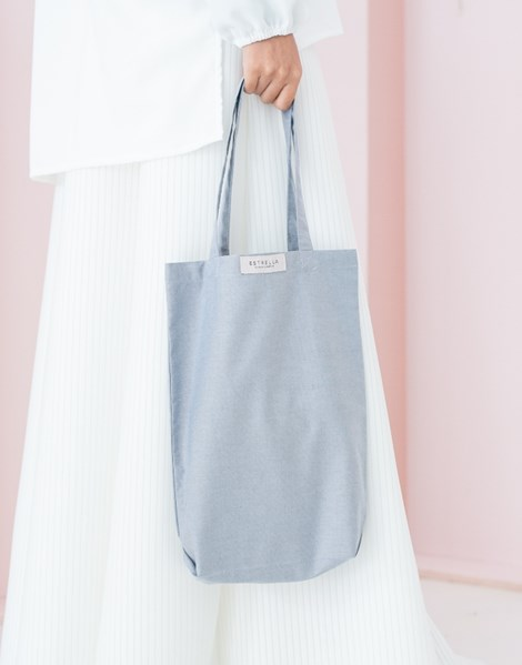 ELLIE TOTE BAG IN GREY