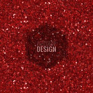 PLAIN GLITTER (RED)