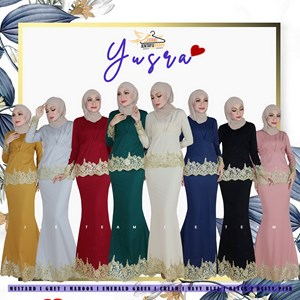 YUSRA EXCLUSIVE MINI KURUNG