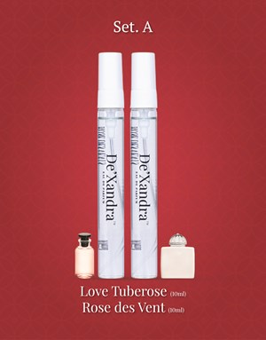 Set A - LOVE TUBEROSE AMOUAGE (10ml) and ROSE DES VENTS (10ml)