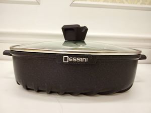 (DARK PURPLE) 28CM SHALLOW CASSEROLE DESSINI