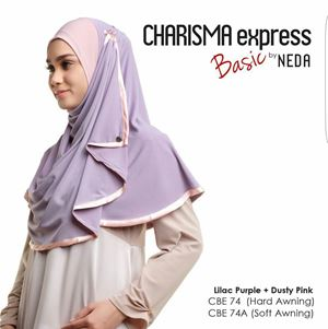 Charisma Basic (Lilac Purple) Hard Awning