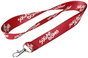 (MER) LANYARD SUGARBOMB (RED COLOUR) (1 UNIT)