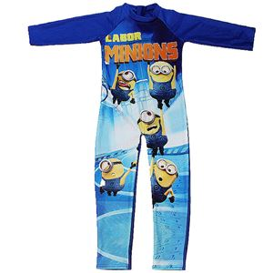 MINIONS SWIM SUIT LONG SLEEVE