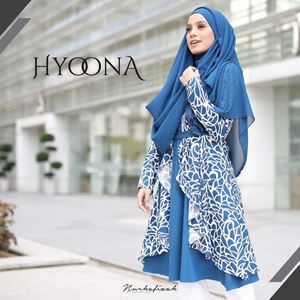 HYOONA BLOUSE ( Blue )