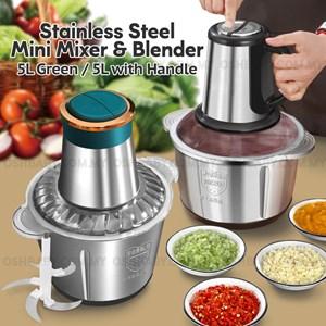 STAINLESS STEEL MINI MIXER & BLENDER 5L