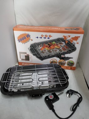 Electric Barbecue BBQ Grill & Steamboat Hot Pot Pan